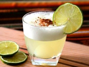 pisco sour receta
