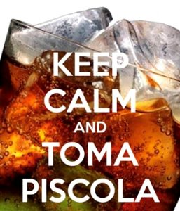 keep calm and toma piscola